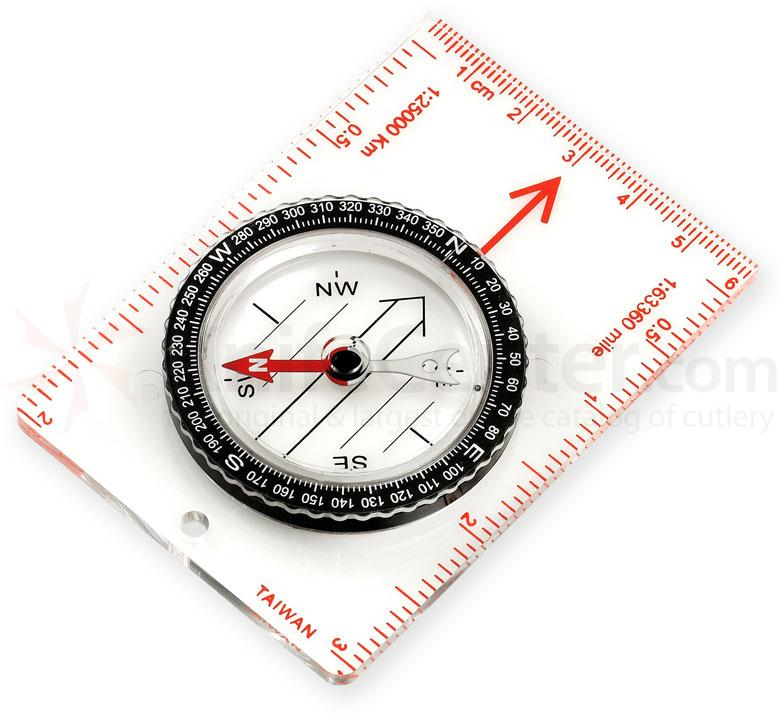 NDuR Small Liquid Filled Map Compass