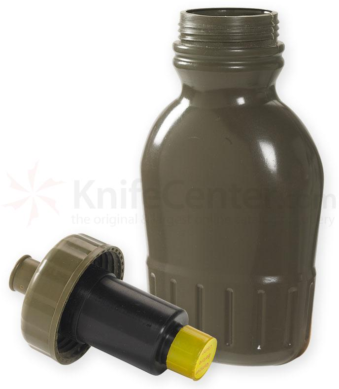 NDuR 38oz Pull Top Canteen with Advanced Water Filter, Olive
