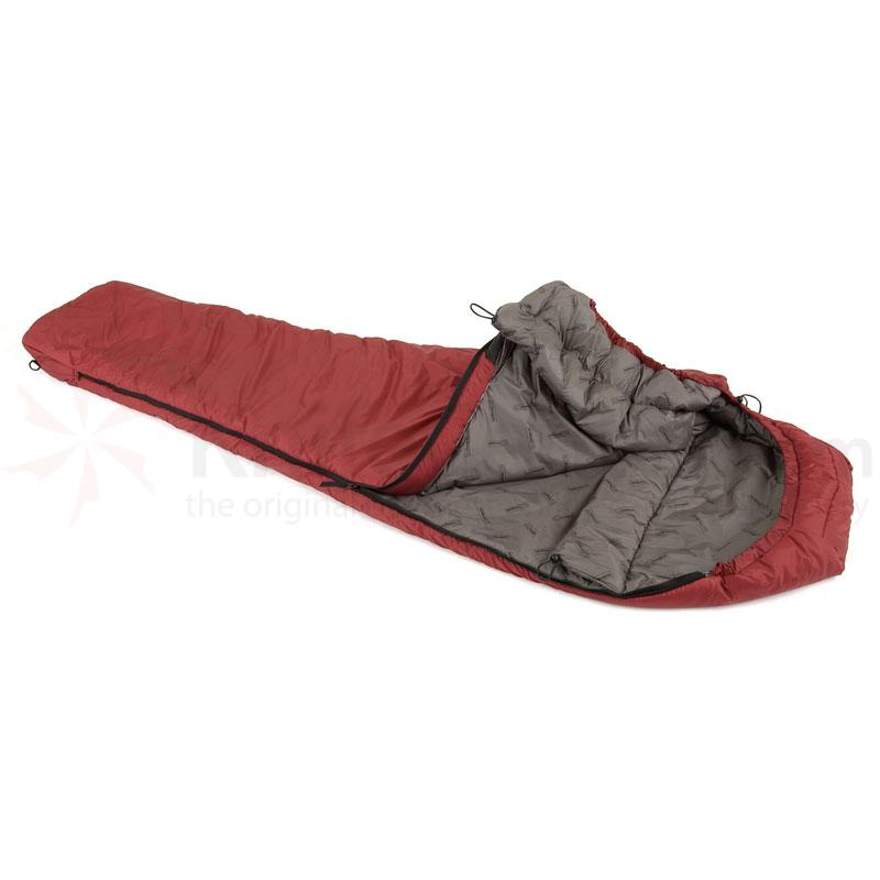 Snugpak Softie 10 Harrier Civilian Red Left Hand Zip