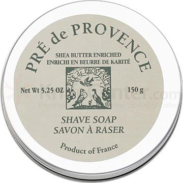 Pre de Provence Shea Butter Shave Soap in Tin Sage Fragrance
