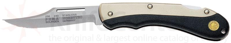Puma Hobbytec Clip Point Hollow Ground 2.6 inch Stainless Steel Blade with Ballistic Sheath
