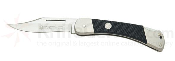 Puma Sergeant Lockback Folder, Black ABS Scales, 3.1 inch Blade
