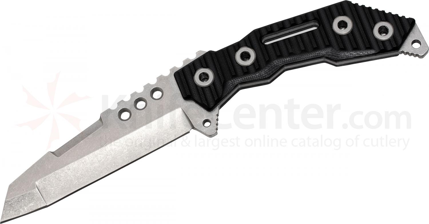 Quartermaster QTR-7 Thomas Magnum Fixed 5 inch Blade, G10 and Stainless Steel Handles