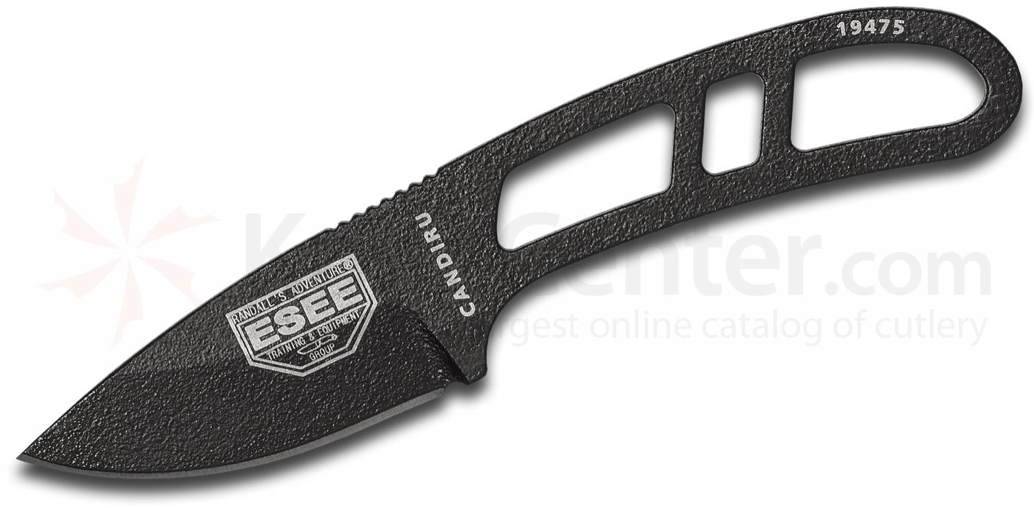 Esee Knives Can B E Candiru Utility Fixed 2 1095 Carbon Blade
