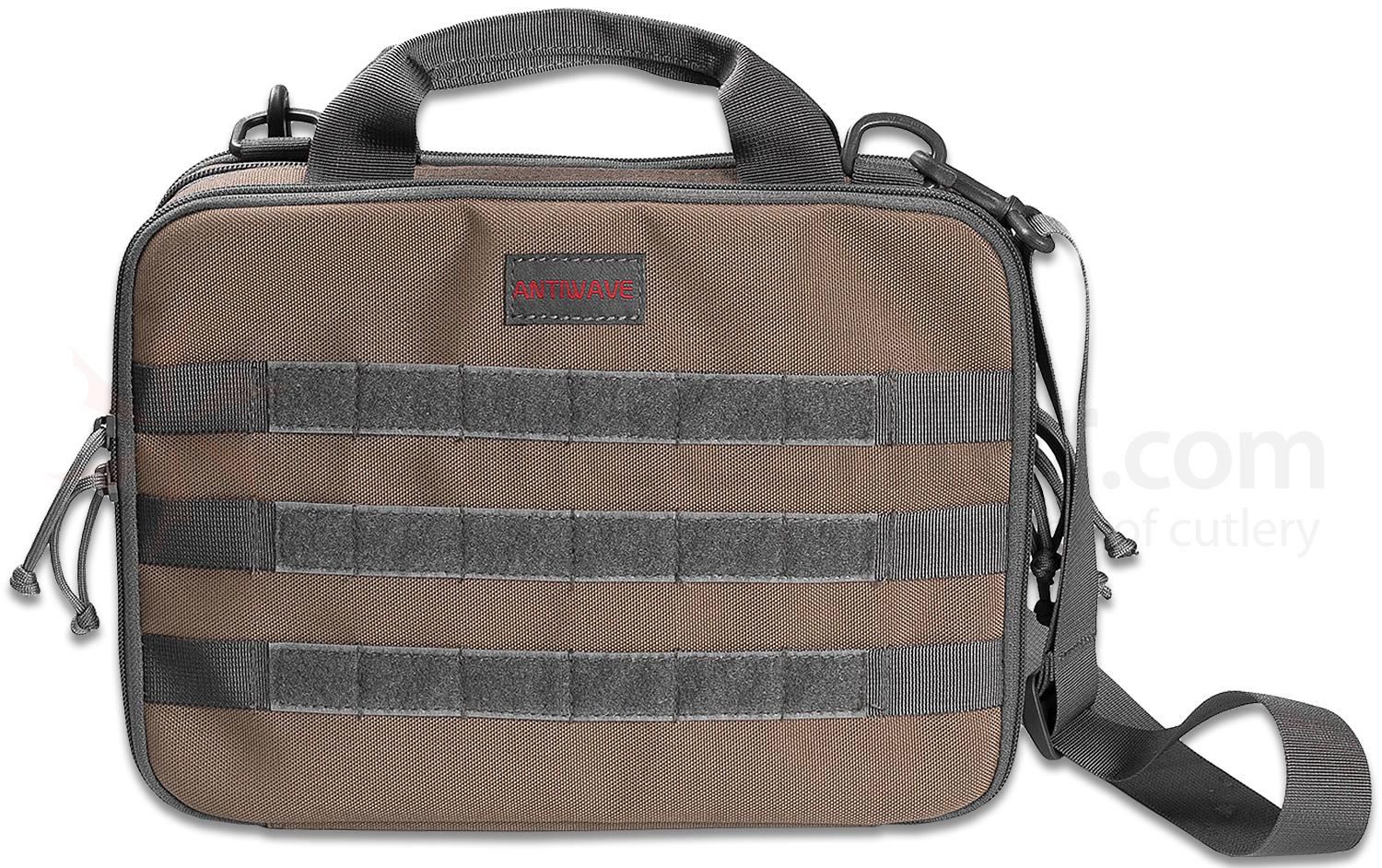 Real Steel Knives Antiwave Chameleon Tactical Gear Bag, Desert Tan