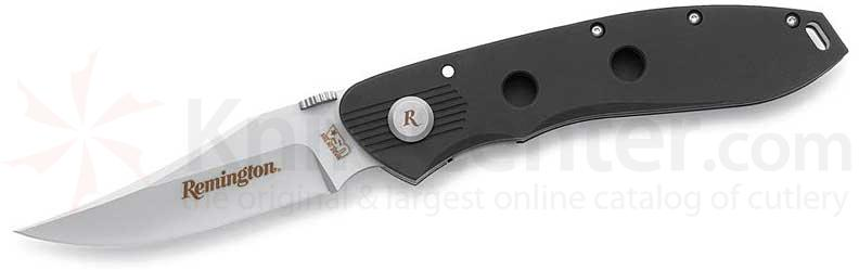 Remington M Series Folder 3.36 inch Clip Point Plain Edge Aluminum Handle
