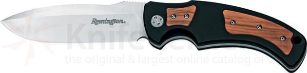 Remington Elite Hunter I Drop Point 4.25 inch w/Aluminum & Olive Wood Hand