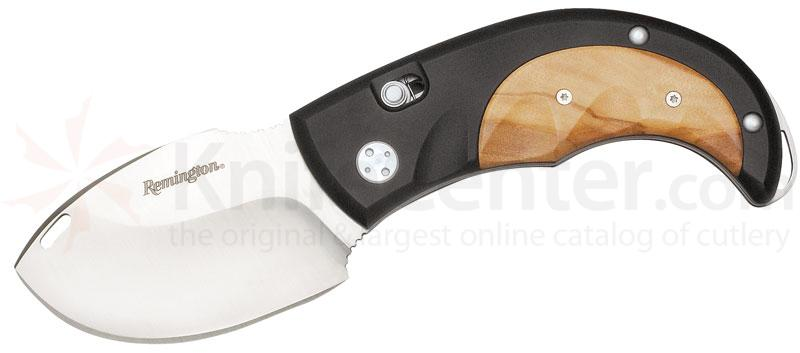 Remington Elite Skinner II Skinner 3 inch Pocketknife with Olive Wood Handles