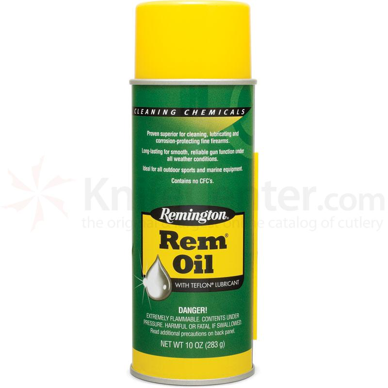 Remington Rem Oil with Teflon Gun Lubricant 10 oz.