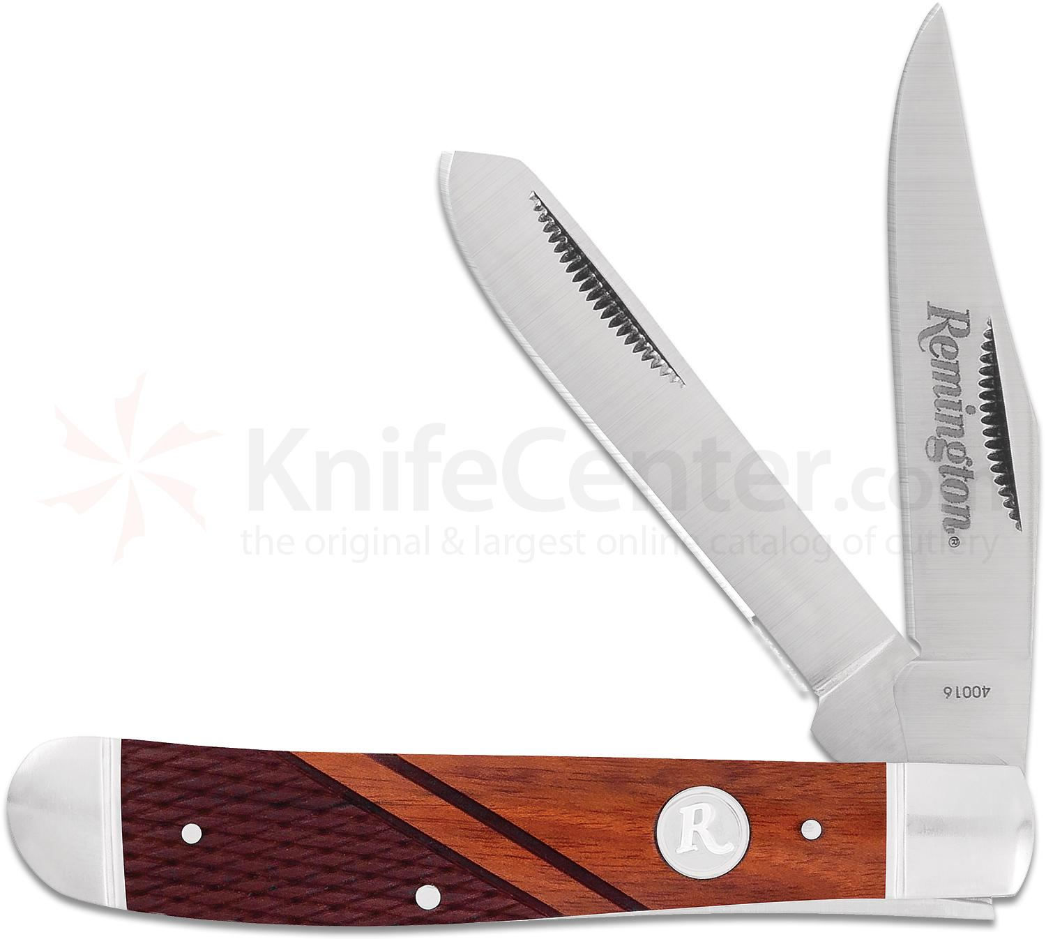 Remington Heritage Series Medium Trapper Folder 3.5 inch Closed 147bab12f07e