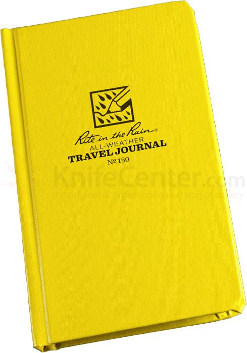 Rite in the Rain Fabrikoid Travel Journal, 4-1/4 inch x 6-3/4 inch, Yellow