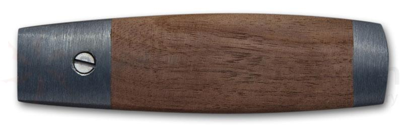 R. Murphy Mill Blade 4-5/8 inch Handle for 9/16 inch & 5/8 inch Wide Blades, Natural Hardwood