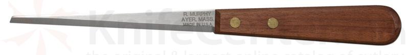 R. Murphy Pottery Knife: 5 1/8 inch Blade, Natural Wood Handle