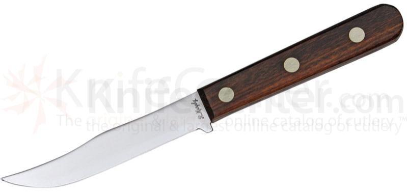 R. Murphy Camping and Hunting Knife 4-3/4 inch Carbon Blade, Rosewood Handle