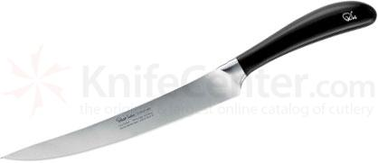 Robert Welch Signature 8 inch Carving Knife, German DIN 1.4116 Stainless Steel Blade, Black Handle