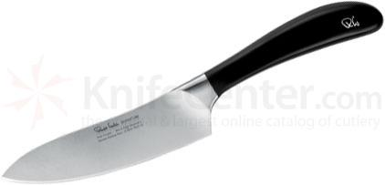 Robert Welch Signature 5.5 inch Chef's Knife, German DIN 1.4116 Stainless Steel Blade, Black Handle