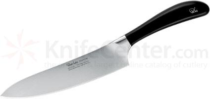 Robert Welch Signature 7.5 inch Chef's Knife, German DIN 1.4116 Stainless Steel Blade, Black Handle