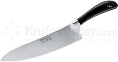 Robert Welch Signature 10 inch Chef's Knife, German DIN 1.4116 Stainless Steel Blade, Black Handle