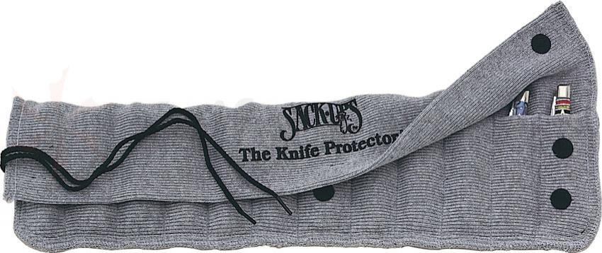 Sack Ups Knife Roll Protector Holds Twelve 5 inch Knives