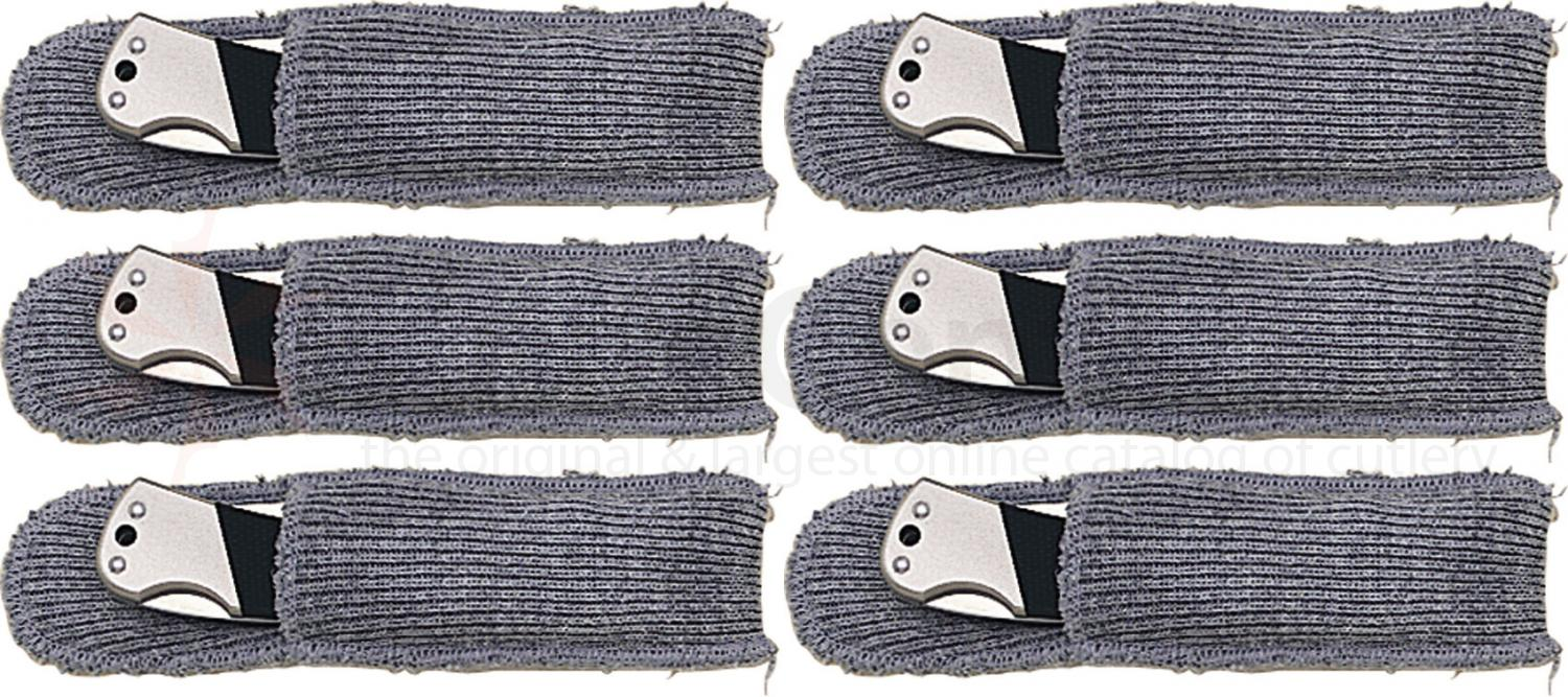 Sack-Ups Knife Protectors, Contains Six 4 inch Knife Pouches