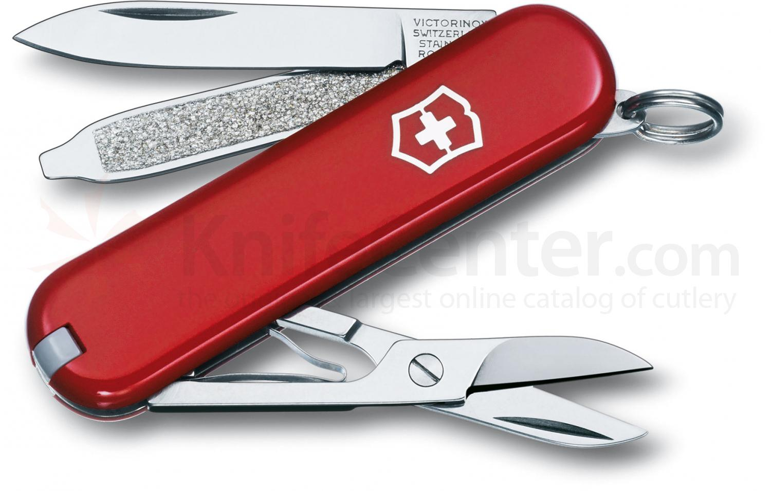 Victorinox Swiss Army Classic SD Multi-Tool, Red, 2-1/4 inch Closed
