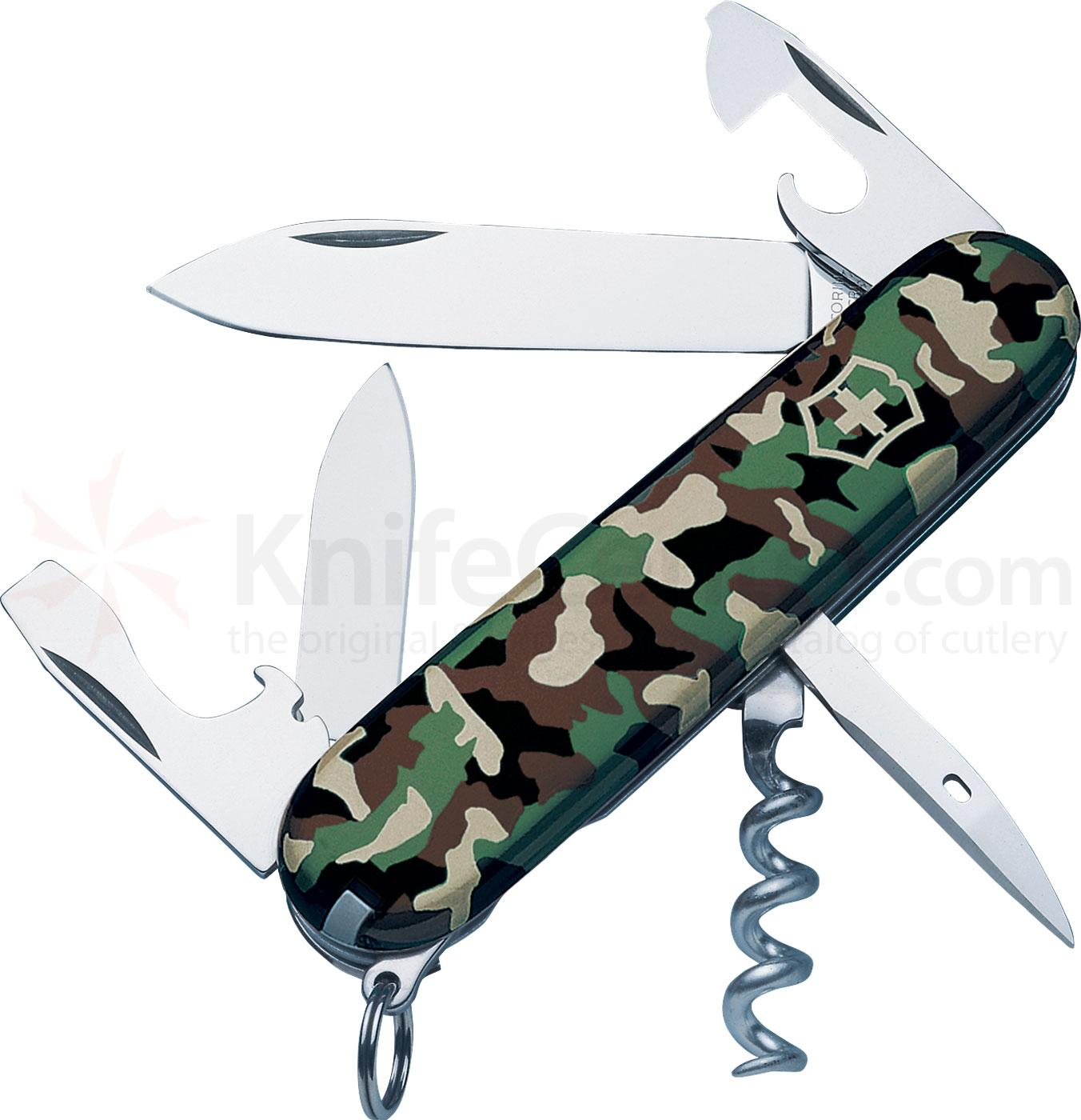 Victorinox Swiss Army Spartan Multi-Tool, Camouflage, 3.58 inch Closed