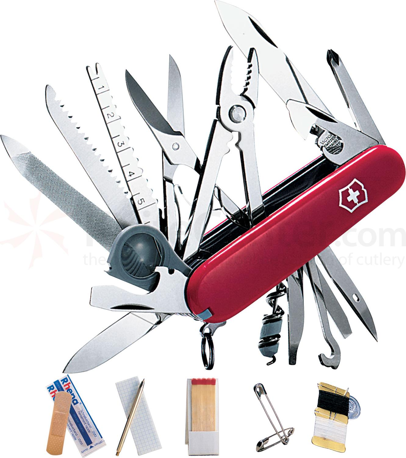 Victorinox Swiss Army Swisschamp Sos Multi Tool Red 3 31