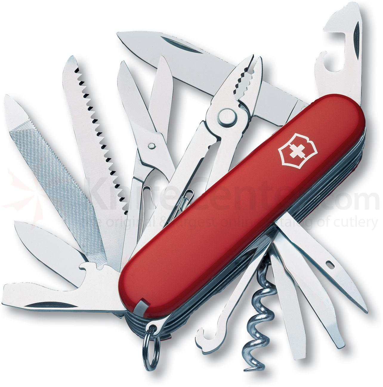 Victorinox Swiss Army Handyman Multi-Tool, Red, 3.58 inch Closed