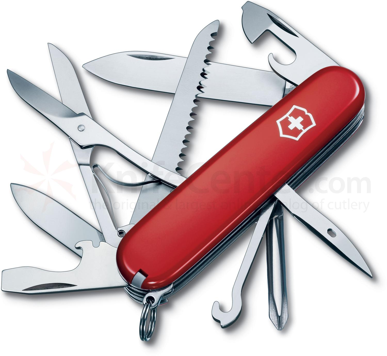 Victorinox Swiss Army Fieldmaster Multi-Tool, Red, 3.58 inch Closed