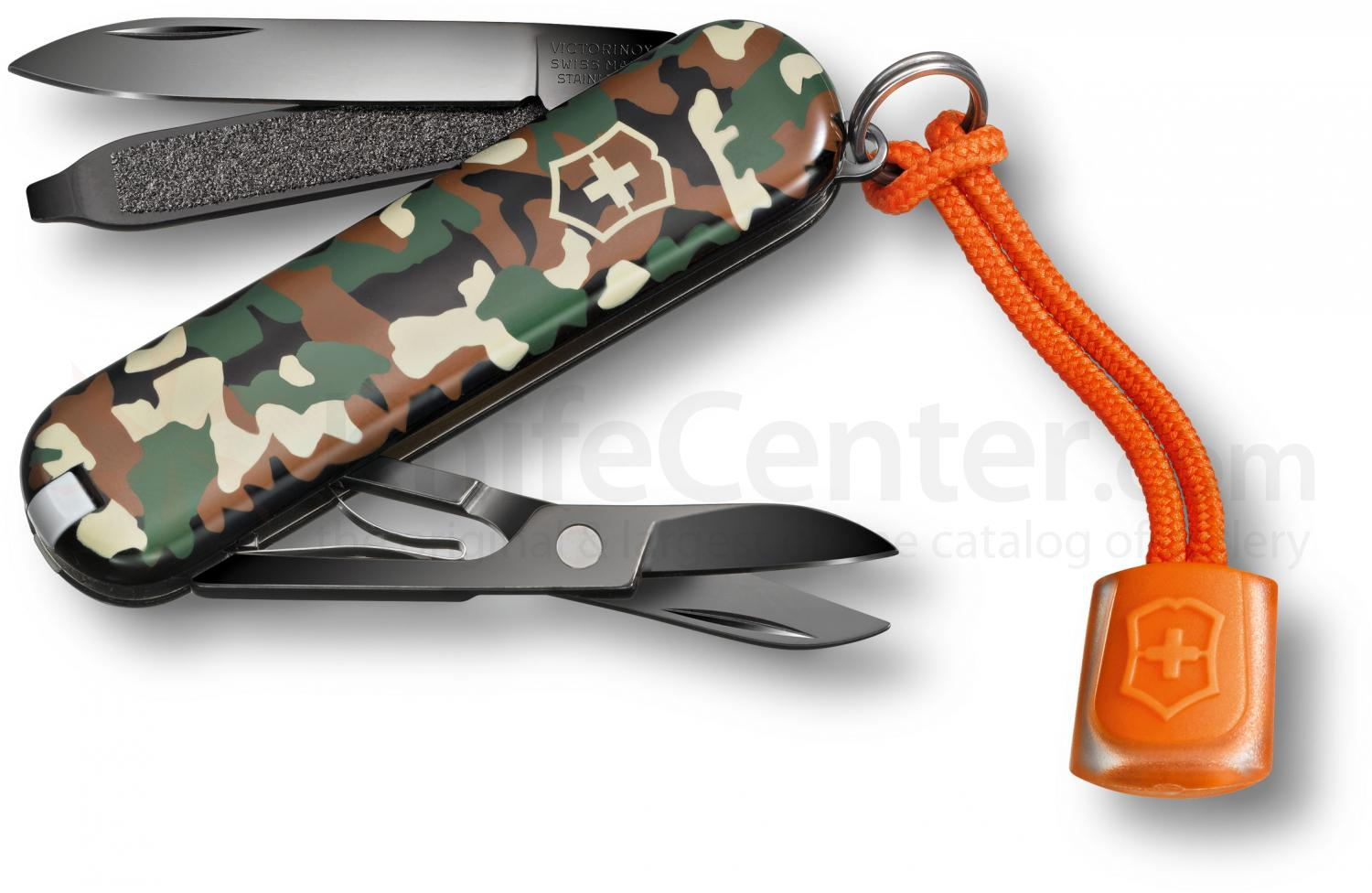 Victorinox Swiss Army Black Ice Classic SD Multi-Tool, 2-1/4 inch Camouflage Handles, Limited Edition (0.6223.94L12)