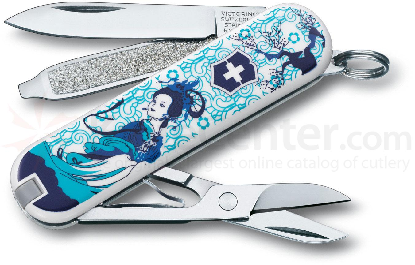 Victorinox Swiss Army 2013 Contest Classic Multi-Tool, Blue Mist, 2-1/4 inch Closed (0.6223.L1307US1)