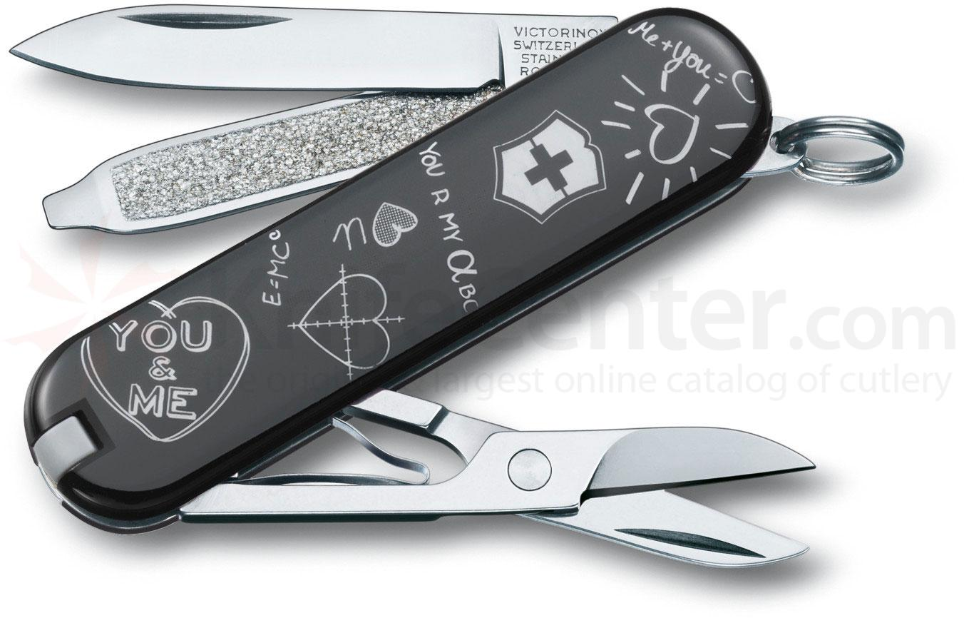 Victorinox Swiss Army 2013 Contest Classic Multi-Tool, Back 2 School, 2-1/4 inch Closed (0.6223.L1310US1)