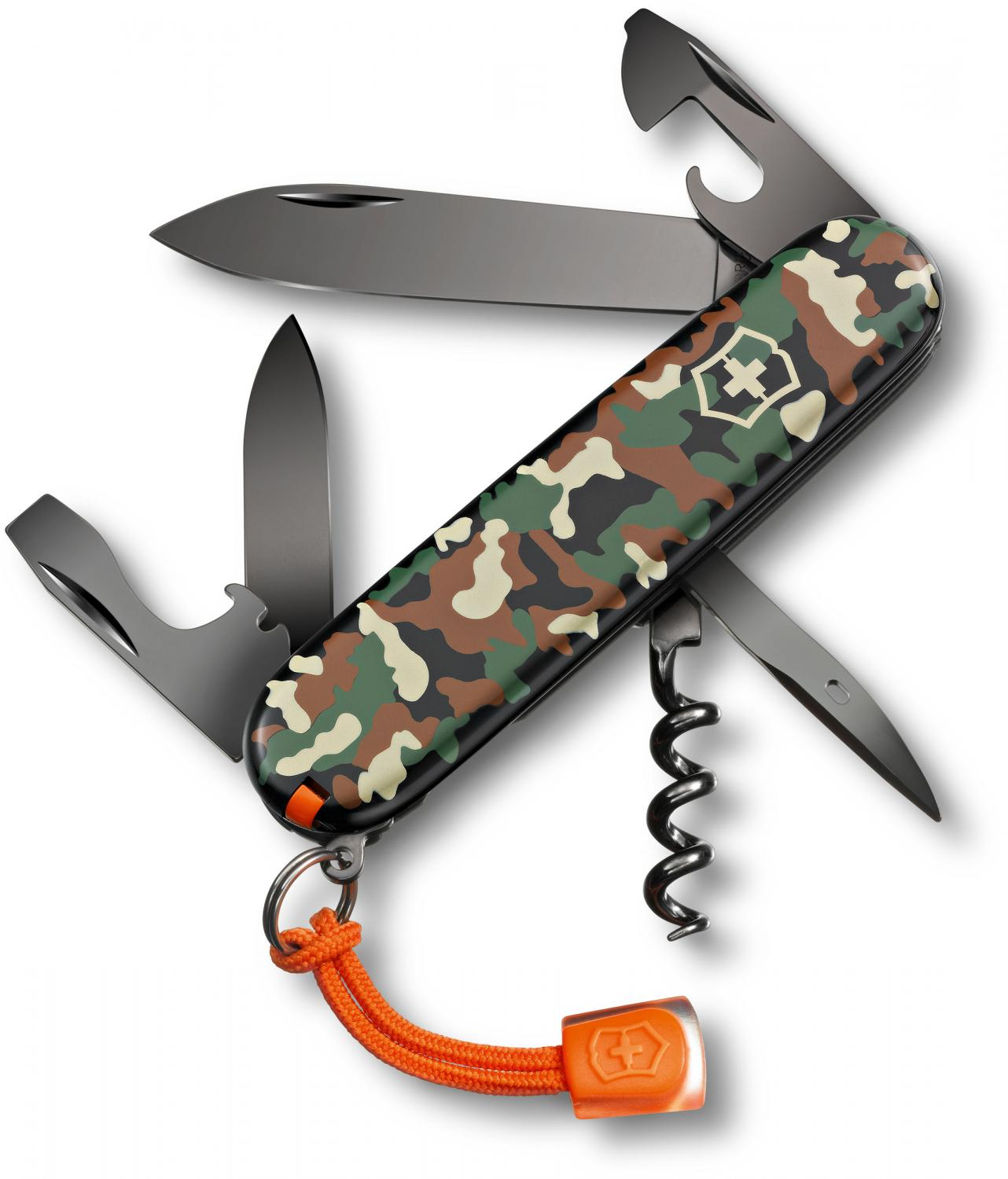 Victorinox Swiss Army Black Ice Spartan Multi-Tool, 3-1/2 inch Camouflage Handles, Limited Edition (1.3603.94L12)
