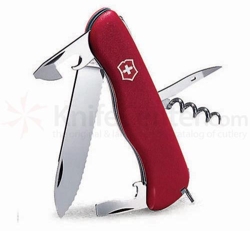 Victorinox Swiss Army Picnicker Multi-Tool, 4-3/8 inch Red Handles