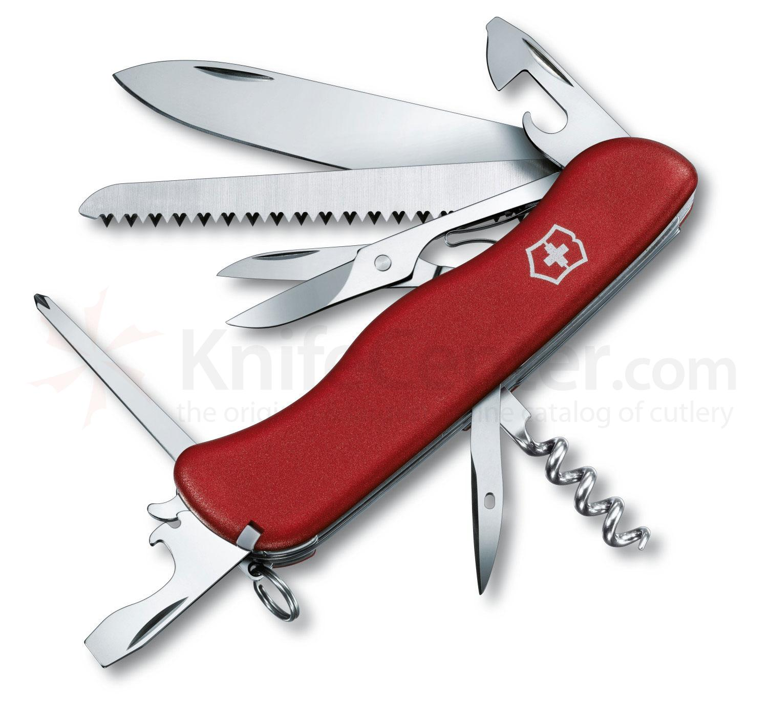 Victorinox Swiss Army Outrider Multi-Tool, Red, 4.37 inch Closed