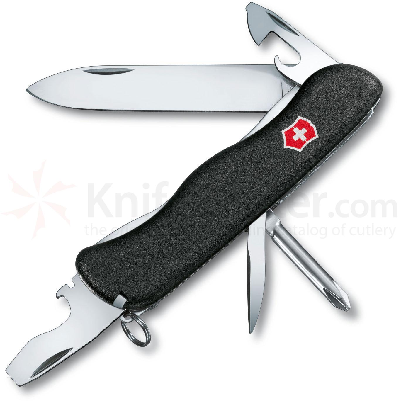 Victorinox Swiss Army Centurion Multi-Tool, Black, 4.37 inch Closed