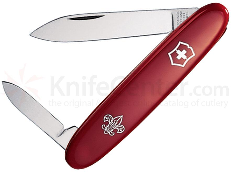 Victorinox Swiss Army 55281 Pocket Pal, Boy Scouts of America, 3-1/4 inch Red Handles
