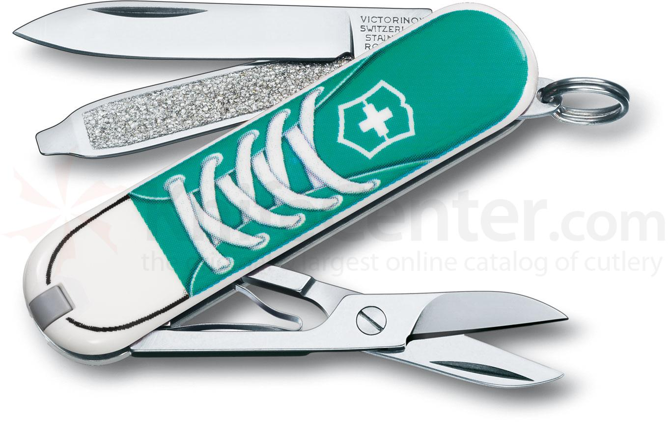 Victorinox Swiss Army 56120 Limited Edition Classic 2012 Multi-Tool, Sneakers, 2-1/4 inch Closed