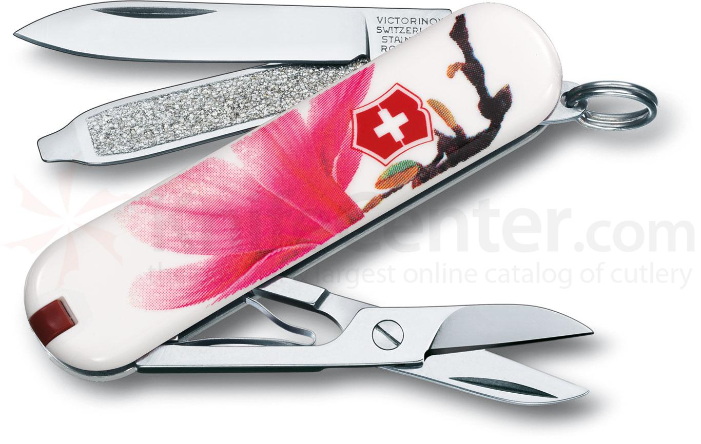 Victorinox Swiss Army 56123 Limited Edition Classic 2012 Multi-Tool, Magnolia, 2-1/4 inch Closed