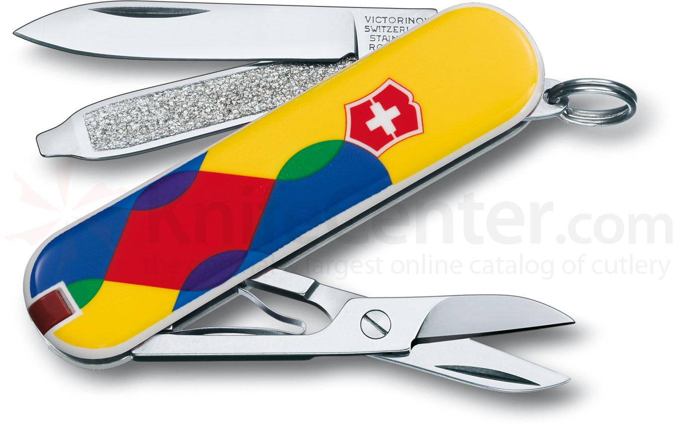 Victorinox Swiss Army 56129 Limited Edition Classic 2012 Multi-Tool, Yuxtaposed, 2-1/4 inch Closed