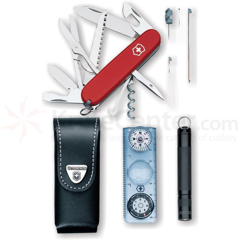 Victorinox Swiss Army Traveler S Set With Huntsman Compass