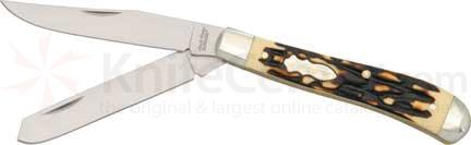 Schrade Uncle Henry Pro Trapper 3 7/8 inch Closed made in China