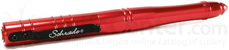 Schrade (Red) Aluminum Tactical Pen 2nd Gen