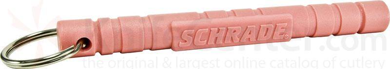 Schrade Self-Defense Keychain Rod, Pink, 6 inch Overall