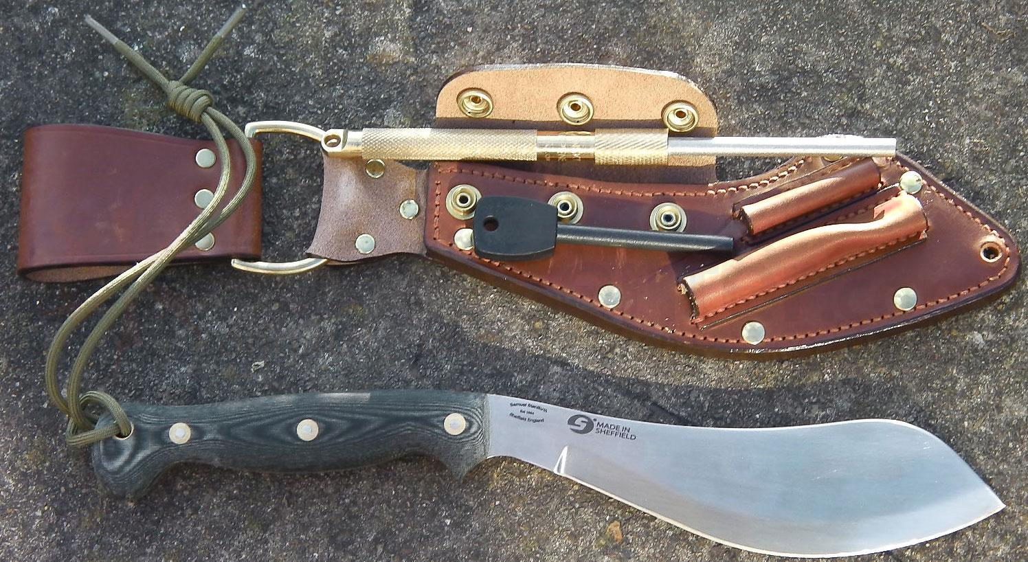 Scorpion Knives Chris Caine Companion Deluxe Survival Tool