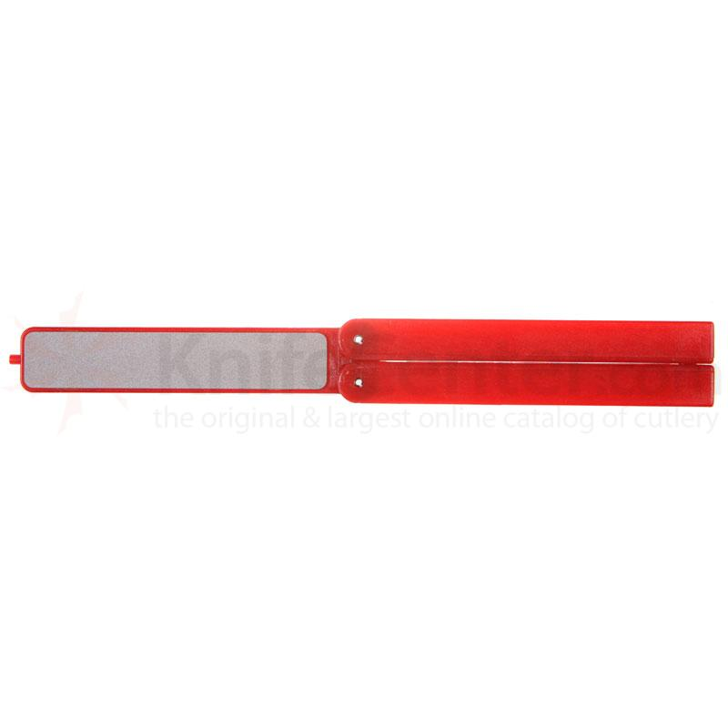 EZE-LAP Fine Stone, Red Handle - EZE-Fold Folding Handle