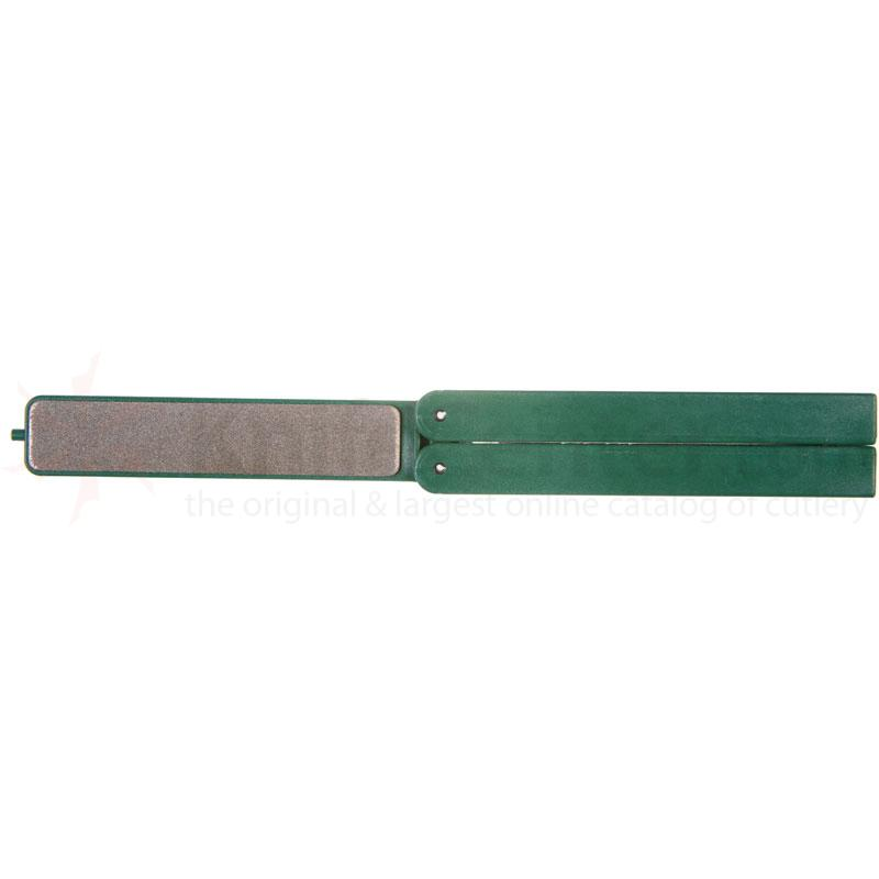 EZE-LAP Extra Coarse Stone, Green Handle - EZE-Fold Folding Handle
