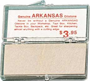 ARKANSAS STONE -small whetstone 3-1/8 inch x 1-1/8 inch