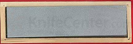 Hall's Pro Edge WBC8 Surgical Black Arkansas Extra-Fine Bench Stone 8 inch x 2 inch x 1/2 inch