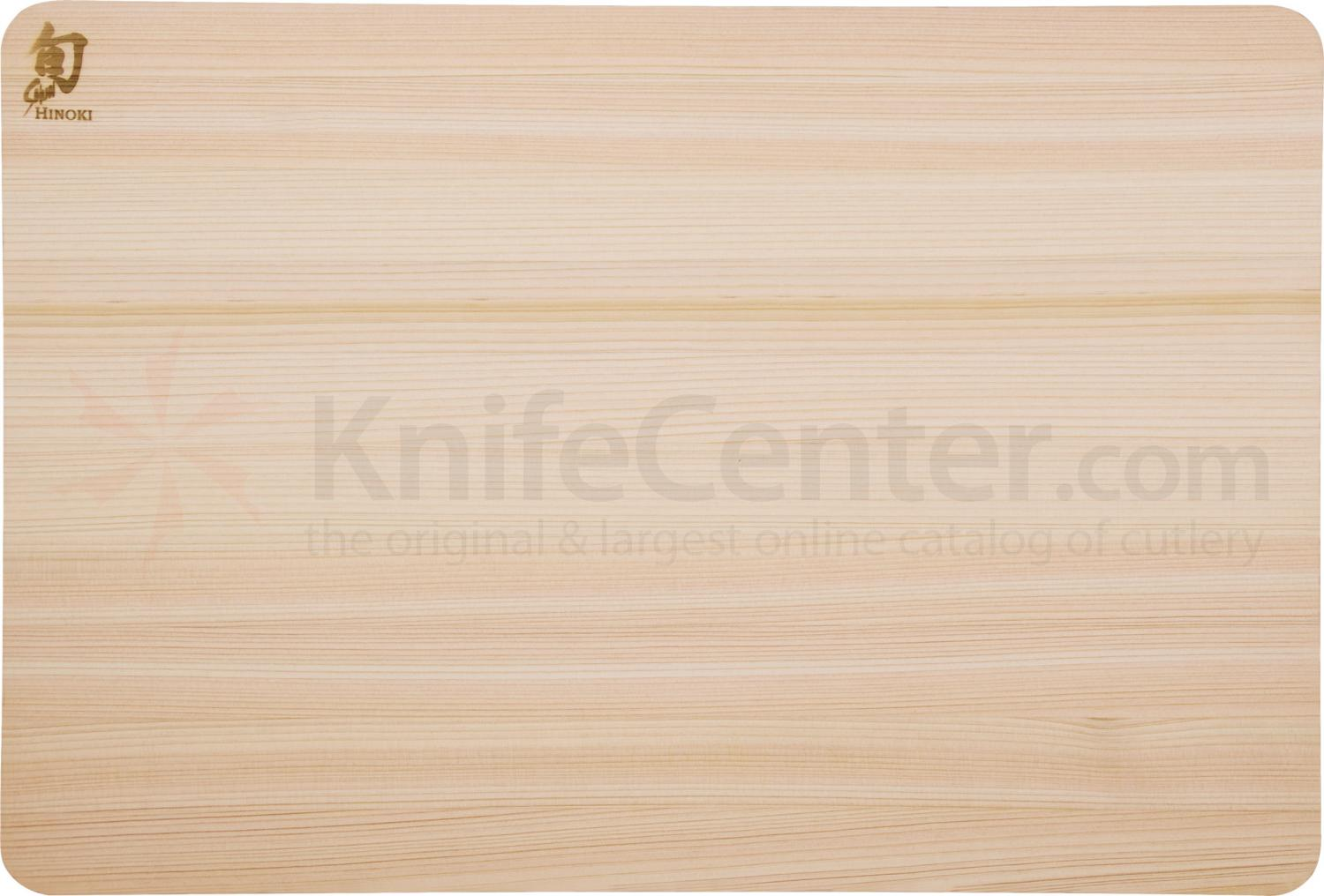Shun DM0816 Hinoki Cutting Board, Medium, 15.75 inch x 10.75 inch x 0.5 inch